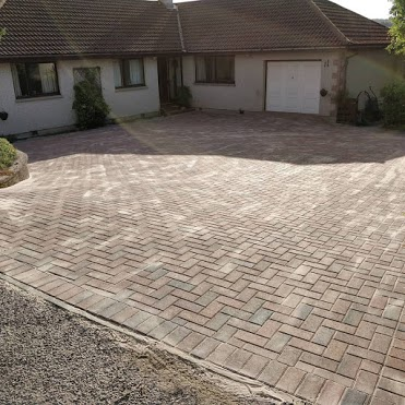 Commercial Drive and driveway paving