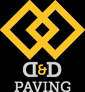 D&D Paving Logo Light