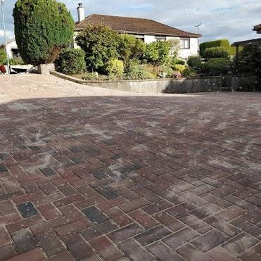 Brickwork driveway scotland