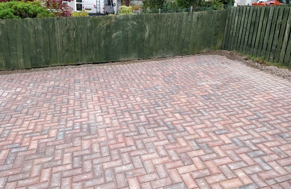 finished driveway inverness