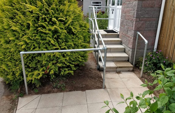 pathway and steps paving highlands