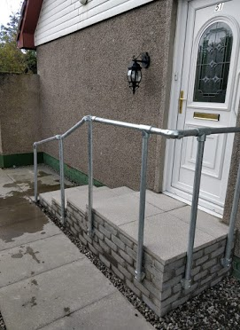 steps alternate angle