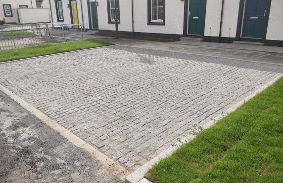 Paving driveway Highlands