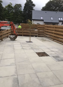 Patio paving Inverness