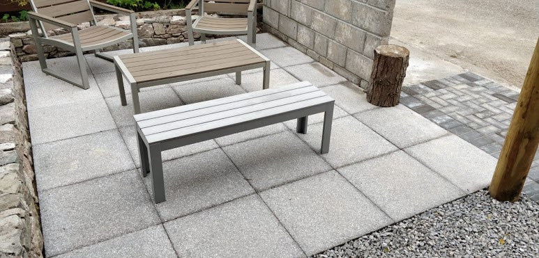 D&D paving patio slabs