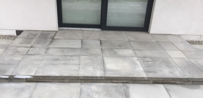 patio stone slabs paving Nairn