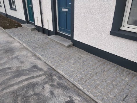 entrance paving
