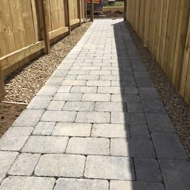 brick path paving inverness