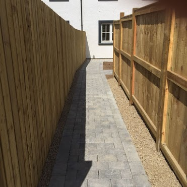 completed path pavers