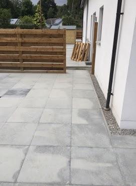 patio paving concrete
