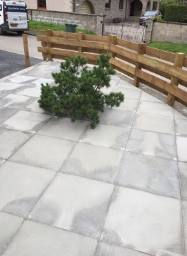 patio slabs inverness