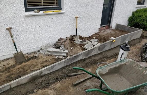 ramp under construction