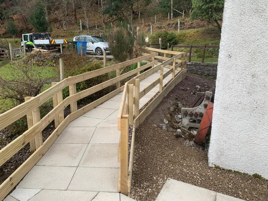 Fencing with Path Highlands