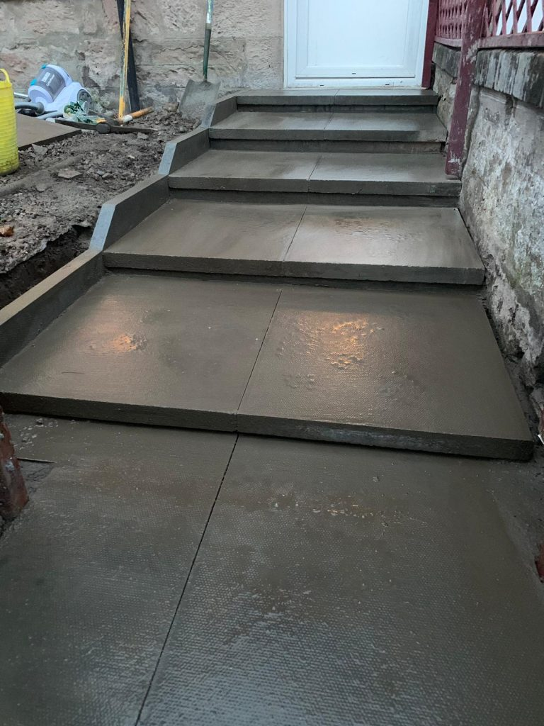 Step paving inverness