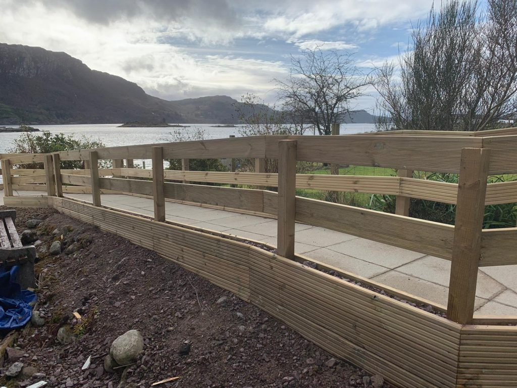 Fencing timber inverness