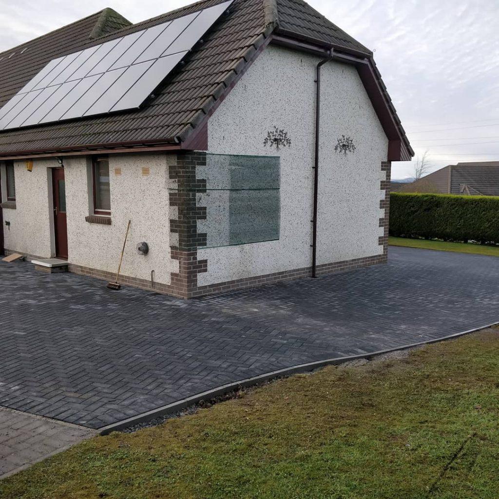 paved driveway inverness