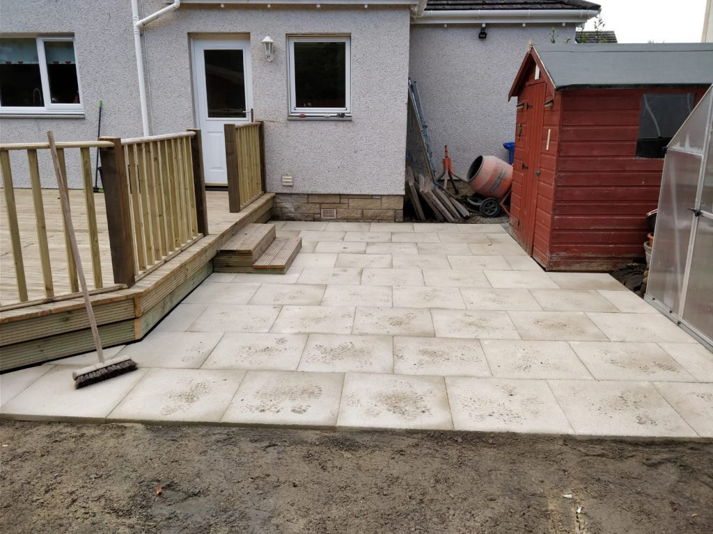 Patio Laying Inverness
