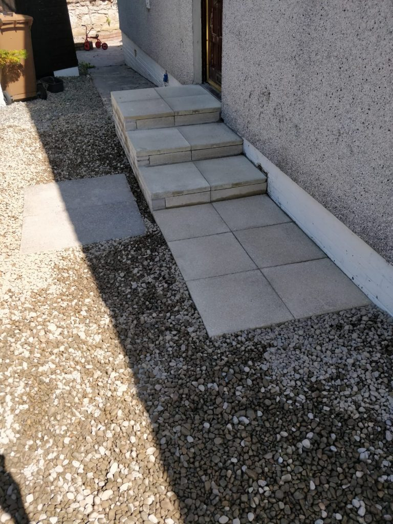 D&D Paving Step