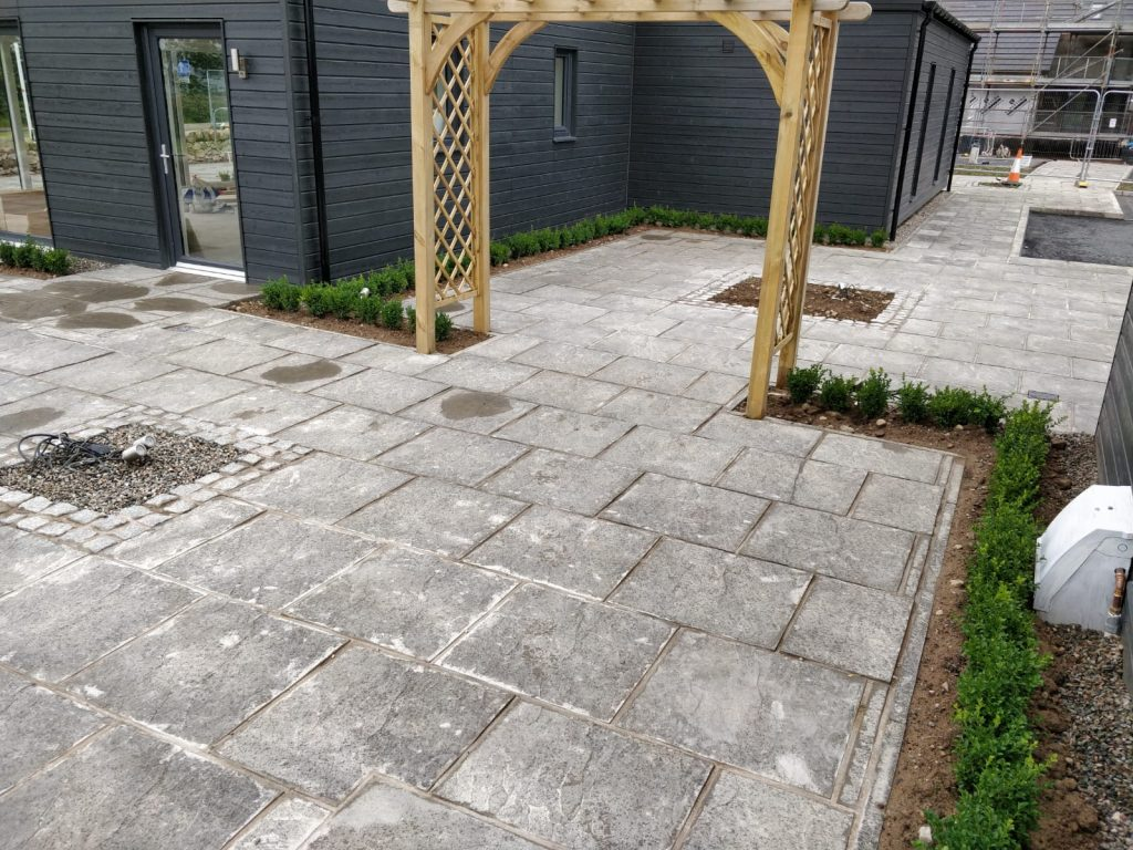 stone paving patios inverness