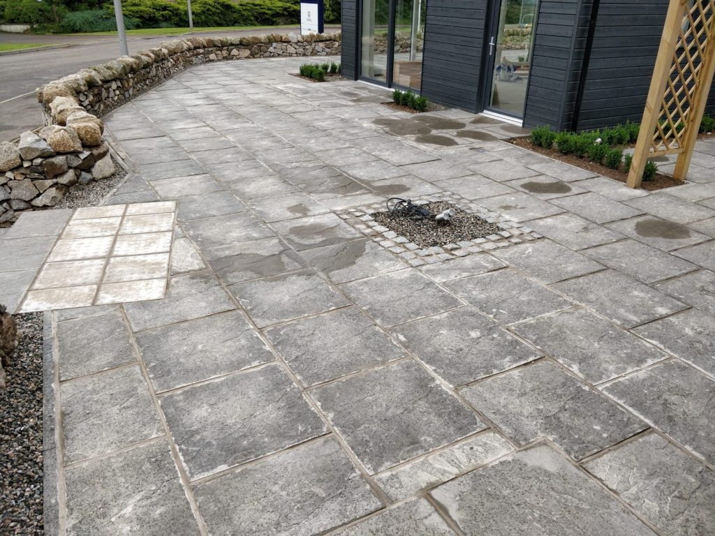stone patio paving inverness