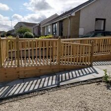 Fencing Rail decking and ramp inverness